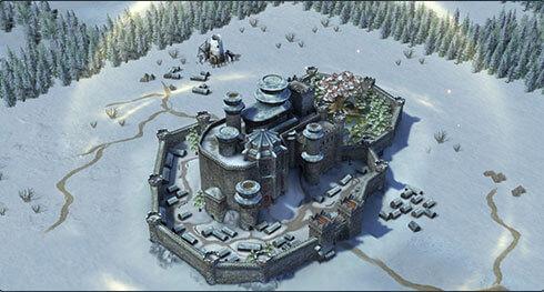Winterfell Karte
