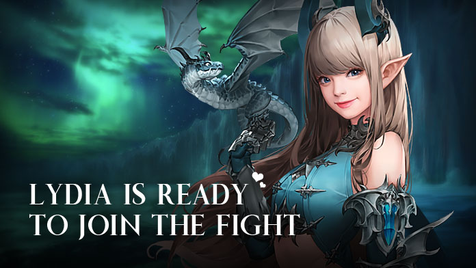 LYDIA IS READY TO JOIN THE FIGHT