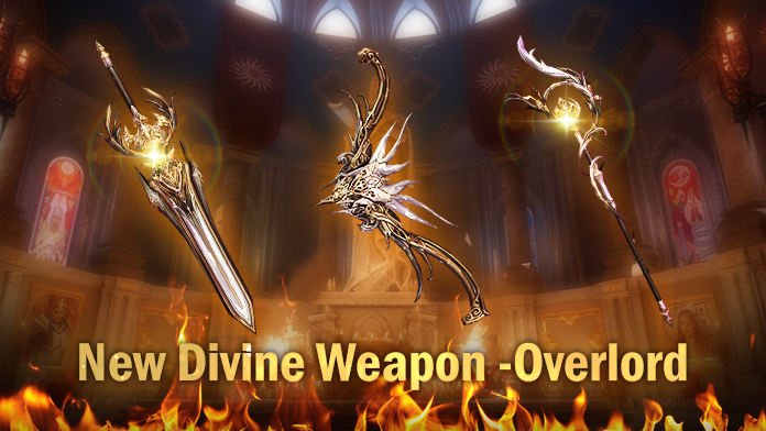 Win the Divine Weapon - Overload at Gabrielle's Gift