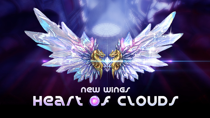 Get the New Wings - Heart of Clouds at  Treasure Day