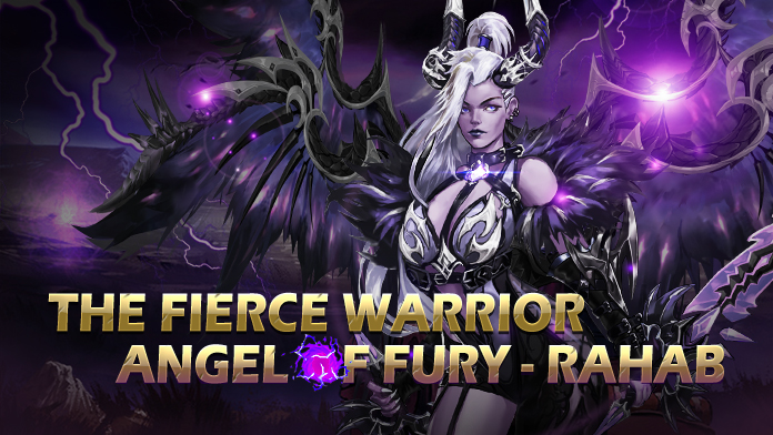 Angel of Darkness - Rahab ready to fight