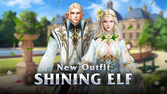Get the Outfit & Divine Weapon - Shining Elf at July Carnival