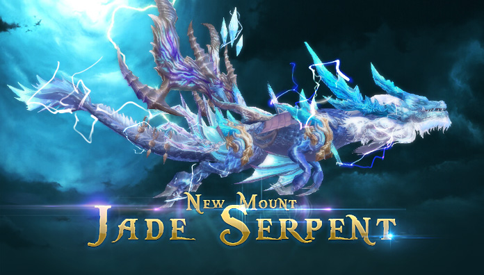 Win the Gorgeous Mount - Jade Serpent at Gabrielle's Gift