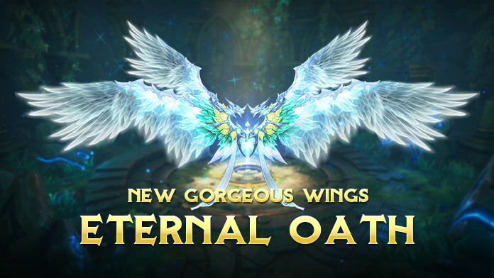Get the gorgeous Wings - Eternal Oath at New Event Lucky Tree