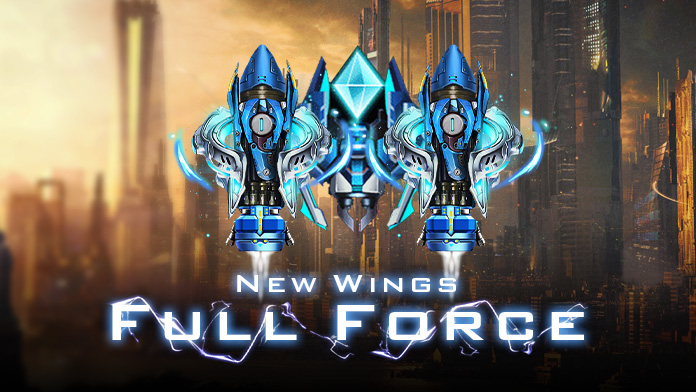 Get the gorgeous Wings - Full Force at New Event Lucky Tree
