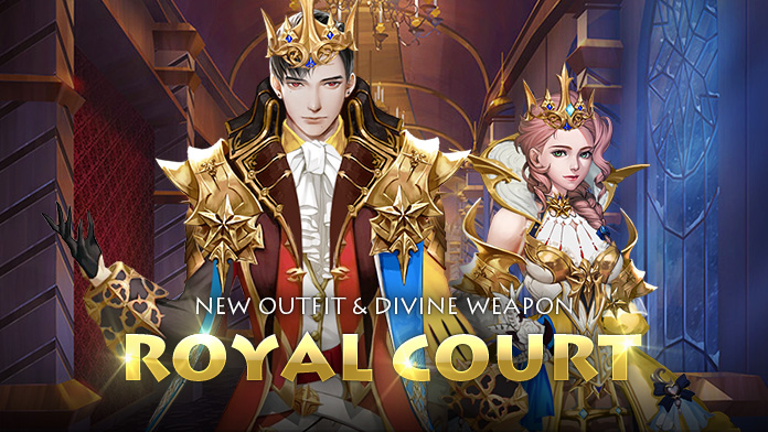 Get the Outfit & Divine Weapon - Royal Court at Treasure Day