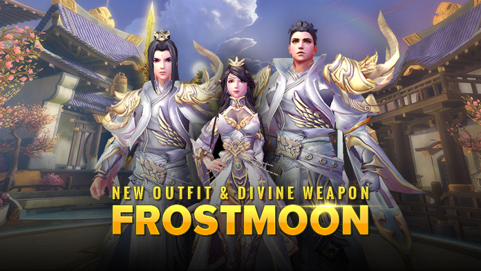 Get New Outfits & Divine Weapon - Frostmoon at the Food Festival