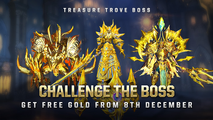 Treasure Trove Boss System – Challenge Bosses to Recycle Free Gold