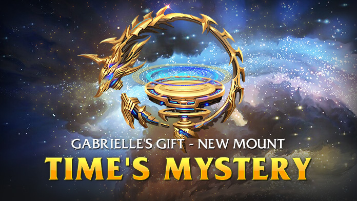 Win the Gorgeous Mount – Time's Mystery at Gabrielle's Gift