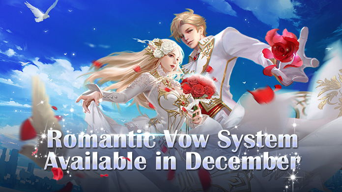 Vow System is available on December 22nd - Find your Vow Partners now