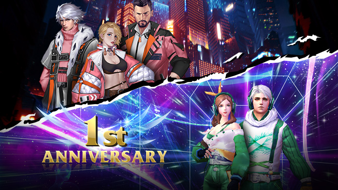 The First Anniversary - Get Outfits Tidal Vanguard & Master of Fashion