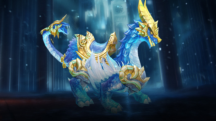 New Mount - Mystic Ice Dragon at Gabrielle's Gift