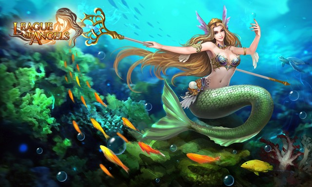 League of Angels Hero Mermaid