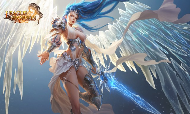 League of Angels Angel Glacia