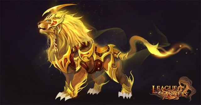 League of Angels Mount Pride King