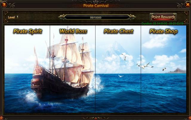 LoA_Enjoy Pirate Carnival , Get your Treasure!