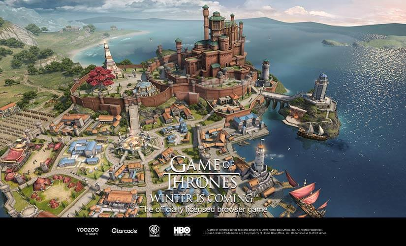 Game of Thrones Winter is Coming Browser Game news