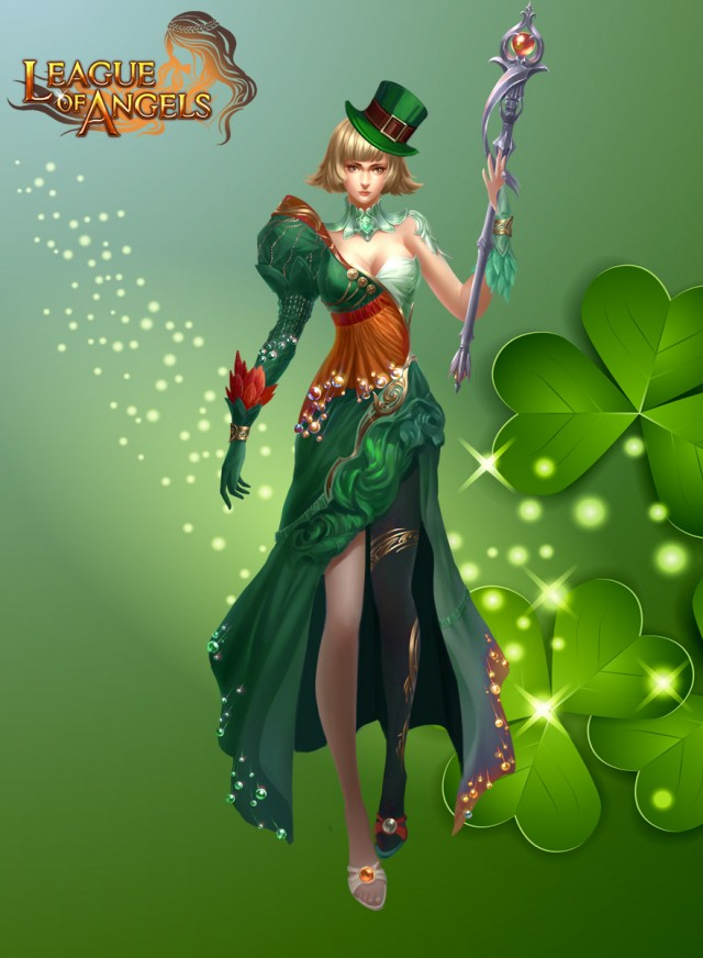 League of Angels Leprechaun Costume