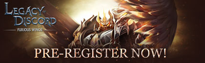 Legacy of Discord – Pre-registration