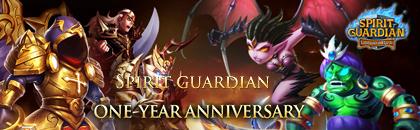 Spirit Guardian First Anniversary