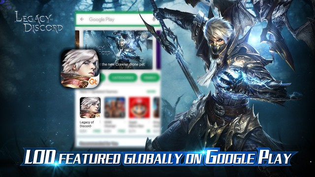 LoD Globally Featured on Google Play With New Flying System