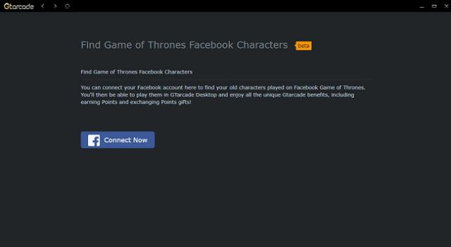 Find Your FB Character on GTarcade Desktop