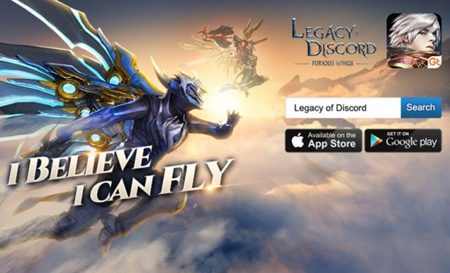Play Legacy of Discord on the Mobile