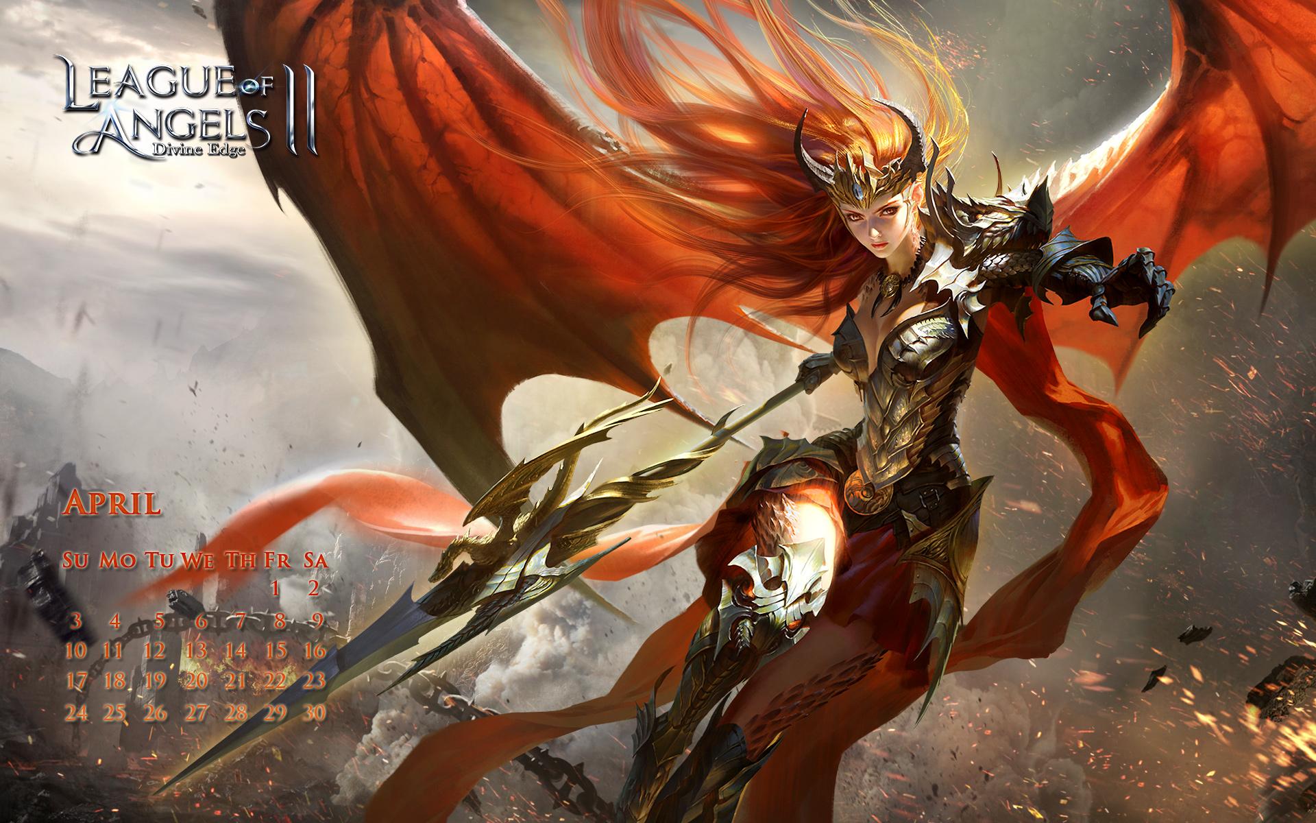 league of angels ii wallpaper丨gtarcade loa2 official site