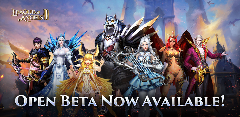 The League of Angels III Open Beta Successfully Launched!