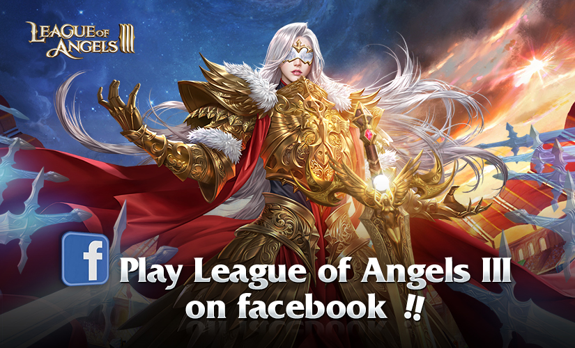 Play League of Angels III on FACEBOOK!