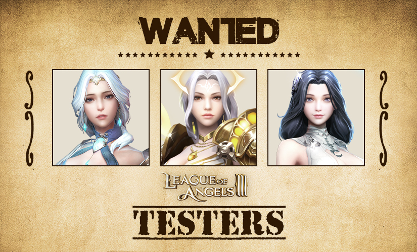 League of Angels Testers Wanted!