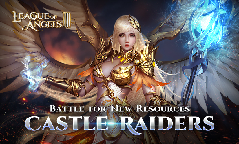 Castle Raiders: Battle for New Resources to Empower Heroes!