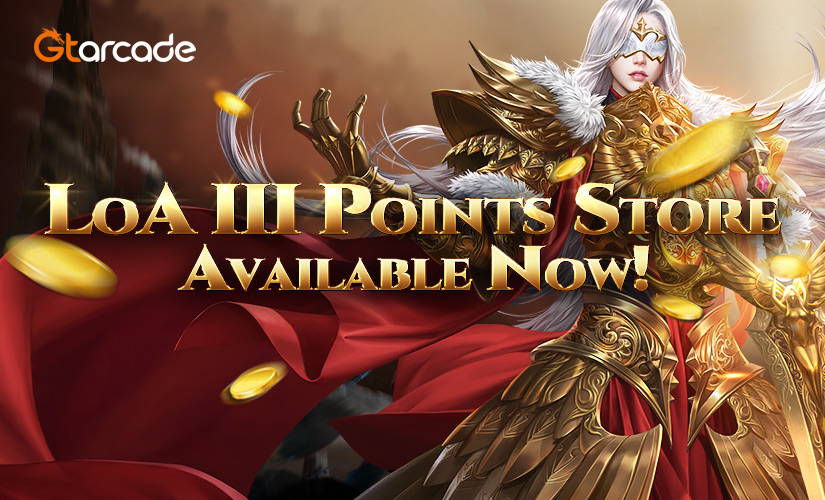 LoA III Points Store Available Now!