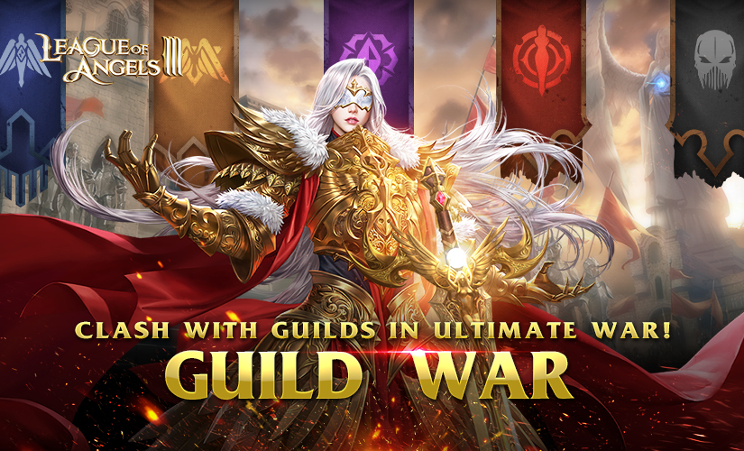 Guild War: Clash with Guilds in Ultimate War in League of Angels III!
