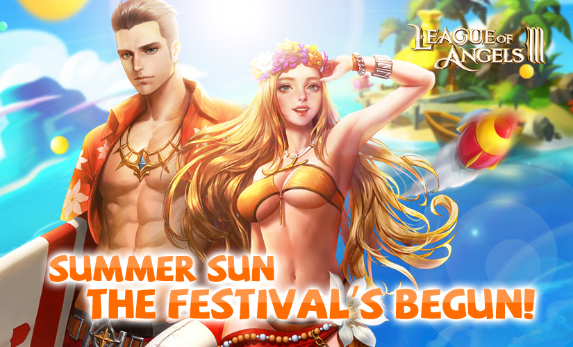 Get the Beach Party Started in League of Angels III!