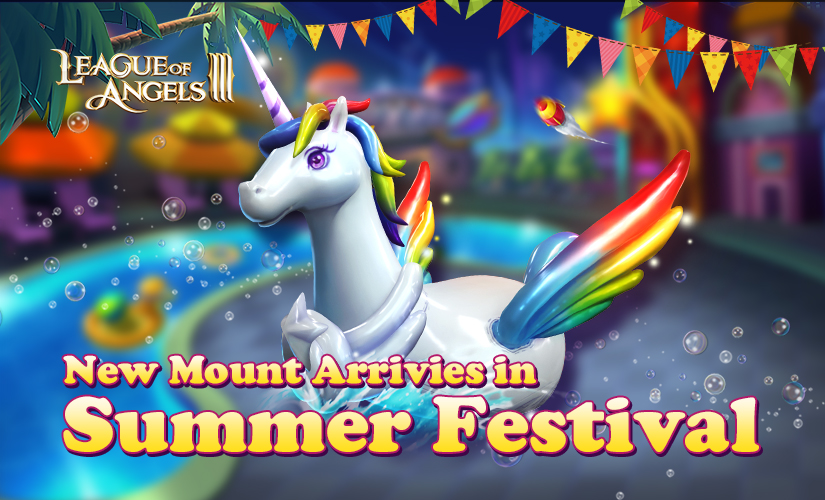 New Mount Summer Unicorn Debuts in Celebration of the Summer Festival!