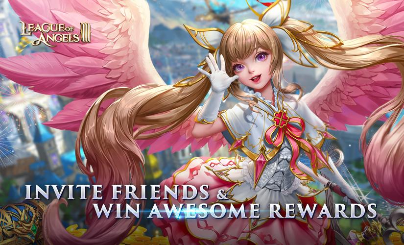 Invite Friends & Win Awesome Rewards