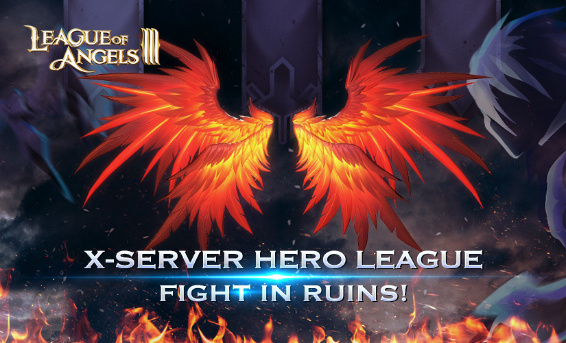 League of Angels III's First X-server Hero League Kicks off on October 1st!