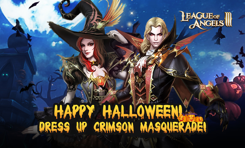 Welcome to Halloween Party in League of Angels III!