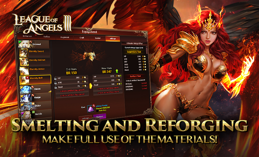 Smelting and Reforge: Recycle Materials and Boost Your Equipment!