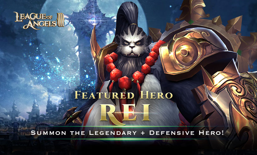 Take the Martial Grandmaster Rei Into Your Squad!