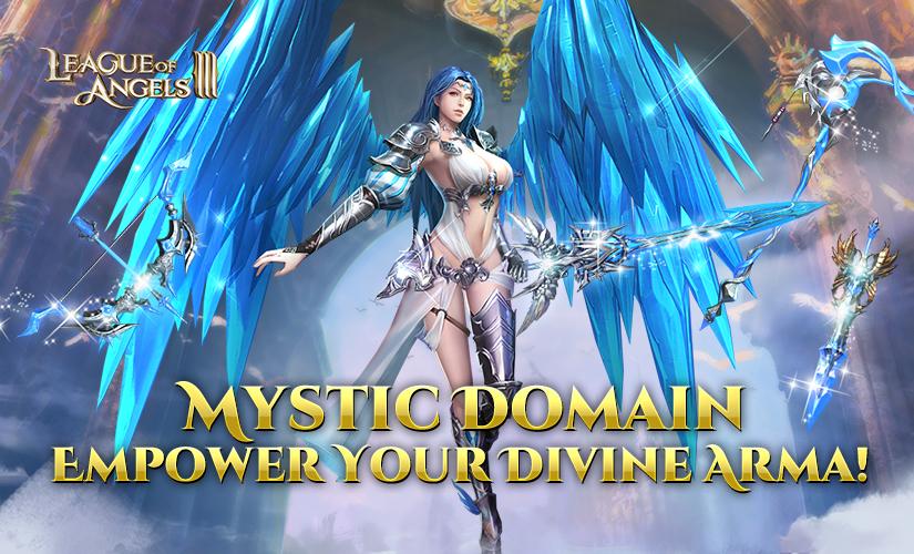 Mystic Domain: Challenge Divine Guardians to Empower Divine Armas!