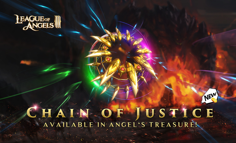 The Most Powerful Ever! Chain of Justice Available in Angel's Treasure.