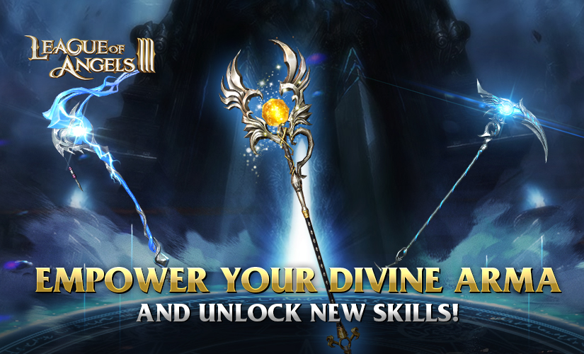 Empower Your Divine Arma to Unlock New Skills!