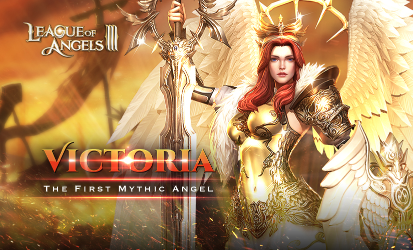 First Mythic Hero: Angel of Victory--Victoria