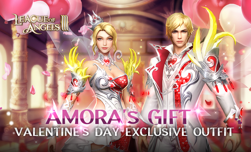 Win New Outfit Amora's Gift in Valentine's Day!