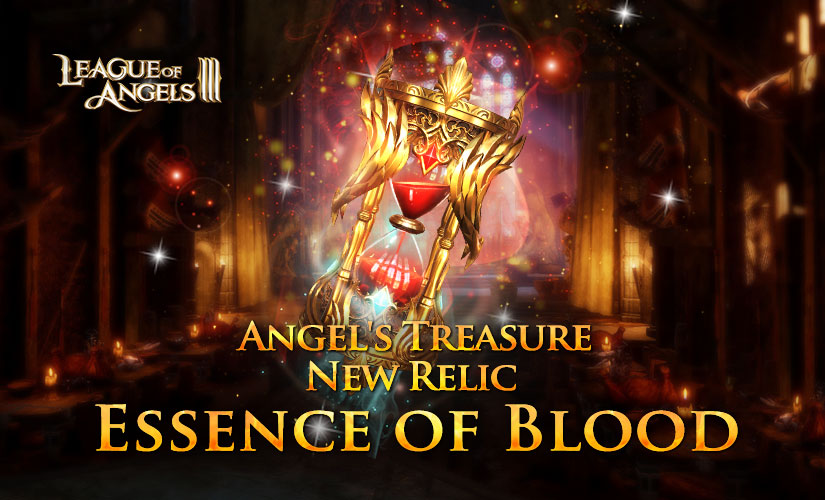 Win New Relic Essence of Blood in Angel's Treasure