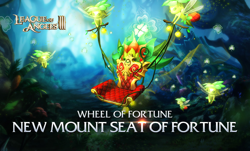 Unlock New Mount Seat of Fortune via Wheel of Fortune