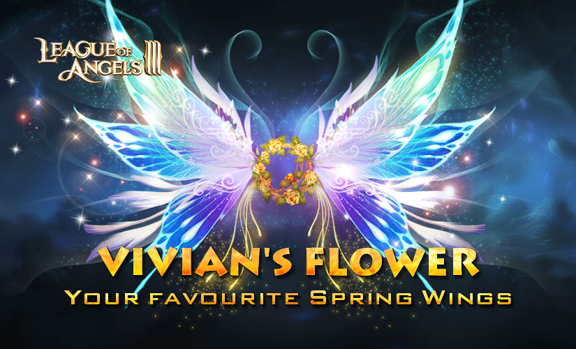 Come and get Angel's Carnival limited Wing: Vivian's Flower