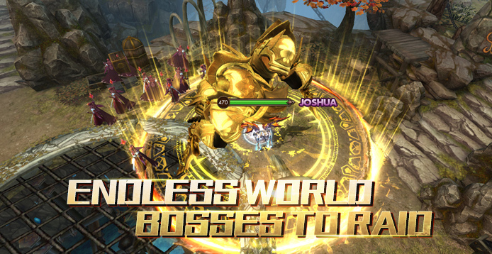 Endless World Bosses to Raid